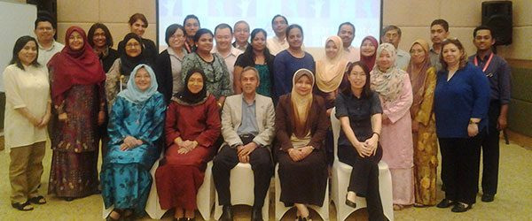 Participants and Panel Members of the research retreat @ Shangri-la Hotel, Putrajaya 2014