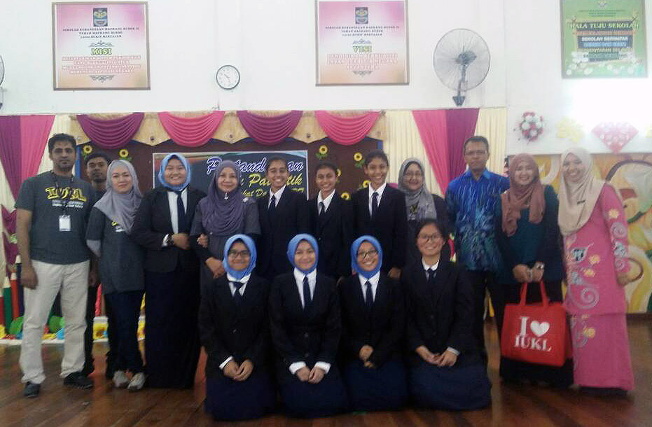 The first prize winner: SMK Convent Bulit Mertajam