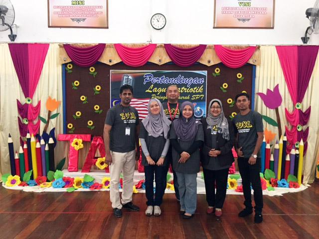 The organizing team from IUKL - from left: Ahmad Alshahri Mohammed Ali Said, Suraya Amirruddin, Prof Dr Siti Maziha Mustapha, Prof. Dr Faridah Ibrahim, Sarker Mohammad Al Amin and Alreaq Nizar