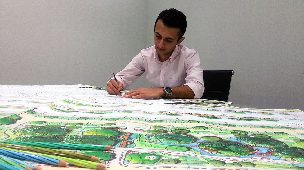 bachelor of landscape architecture infrastructure university kuala