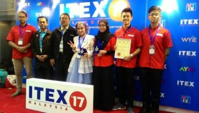 2 SILVER MEDALS @ International Invention, Innovation and Technology Exhibition 2017 (ITEX 2017)