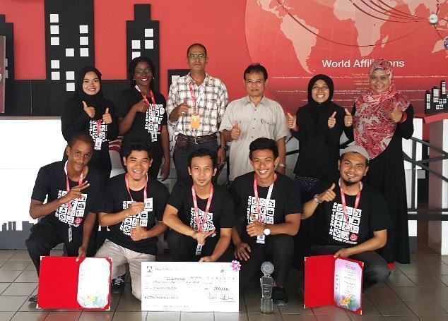 GOLD AWARD @ University Garden Competition at The Royal Floria Putrajaya 2015