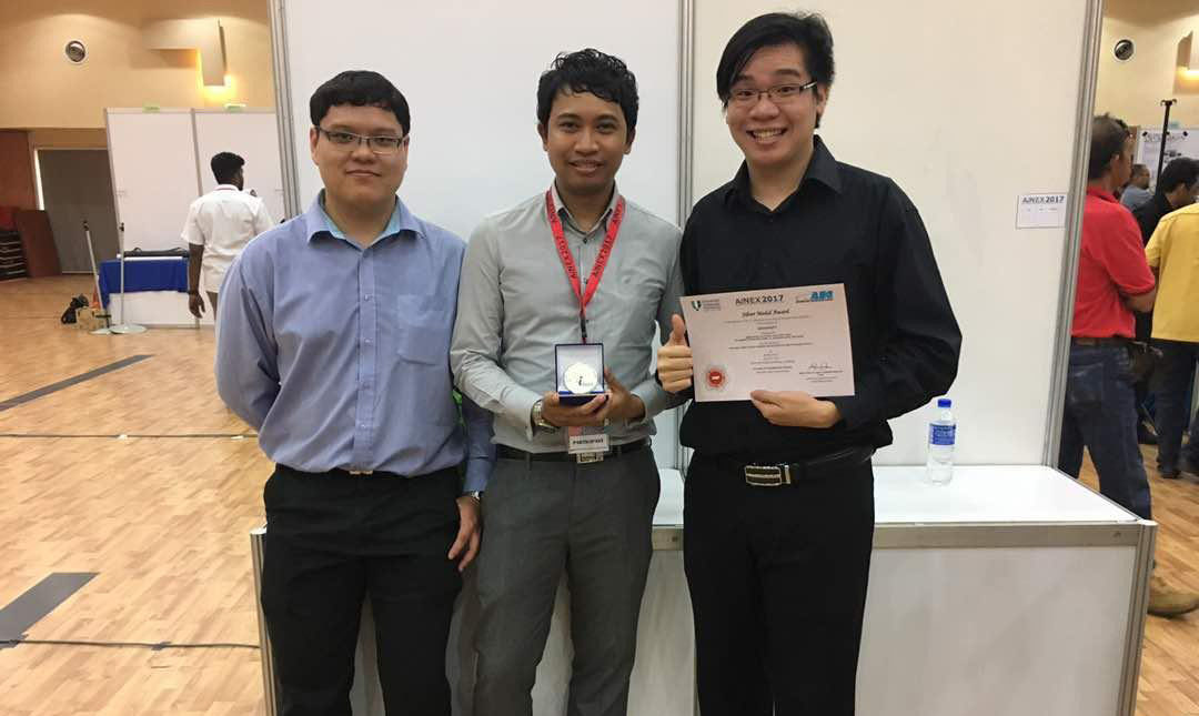 SILVER MEDAL @ Advanced Innovation & Engineering Exhibition (AiNEX 2017)